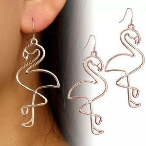 Jewelry - 💕💛Flamingo 💕💛 Earrings